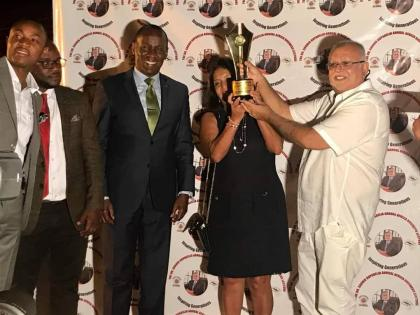 Sudhir Ruparelia Scoops East Africa Business Leadership Award 2018, Dedicates It To President Museveni!