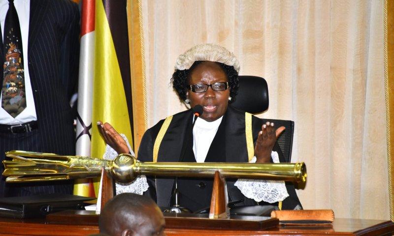 No One Can Black Mail Speaker,Parliament: Kadaga Warns BoU's Ssekabira, Kirkland