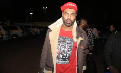 American Singer Ginuwine's Luggage Stolen In Kampala