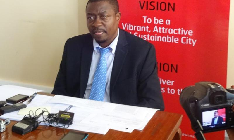 Andrew Kitaka Appointed Acting KCCA Executive Director