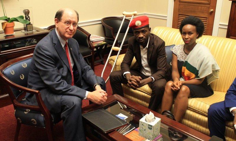 US MP, Bobi Wine's US Lawyer Condemn Ugandan Authorities' Unlawful Activities