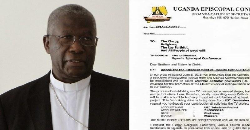 Catholic Church Seeks Funds For Uganda Catholic Television Project