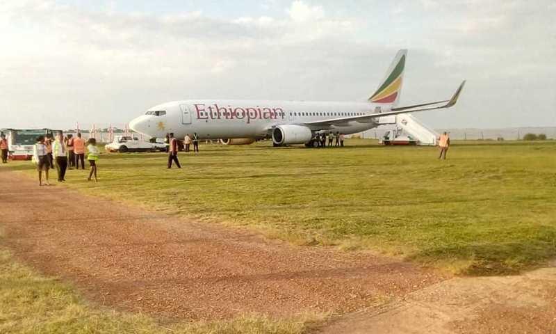 Passengers Survive Plane Crash At Entebbe Airport