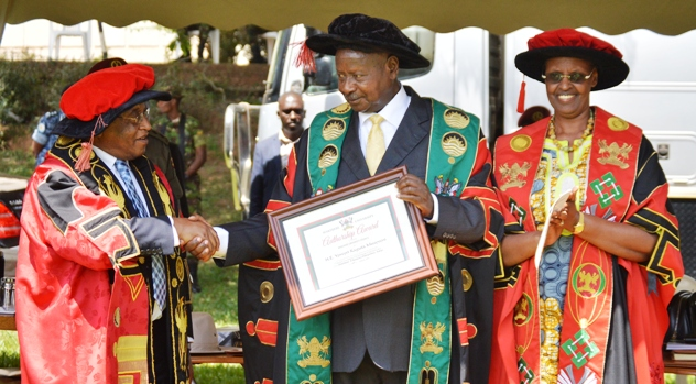 President Museveni Hails Prof. Nawangwe For Dismissing Errant Staff