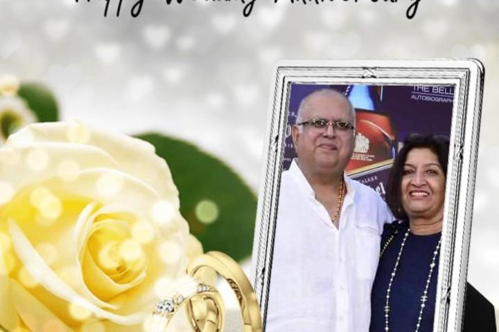 Tycoon Sudhir Ruparelia Celebrates 42nd Wedding Anniversary With COSASE Members!