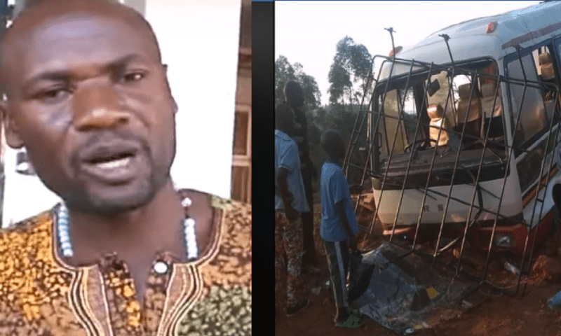 MP Mbwatekamwa Escapes Death  In Accident