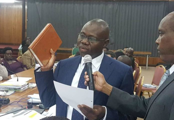 dfcu Bosses  Ssekabembe, Kisaame Put On Oath For Giving False Information On Crane Bank  Sale