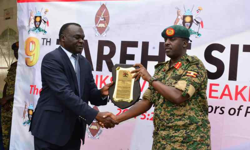 UPDF Holds 9th Tarehe Sita Thanks Giving Breakfast, Dept.Chief Justice Praises Army For Regional Stability