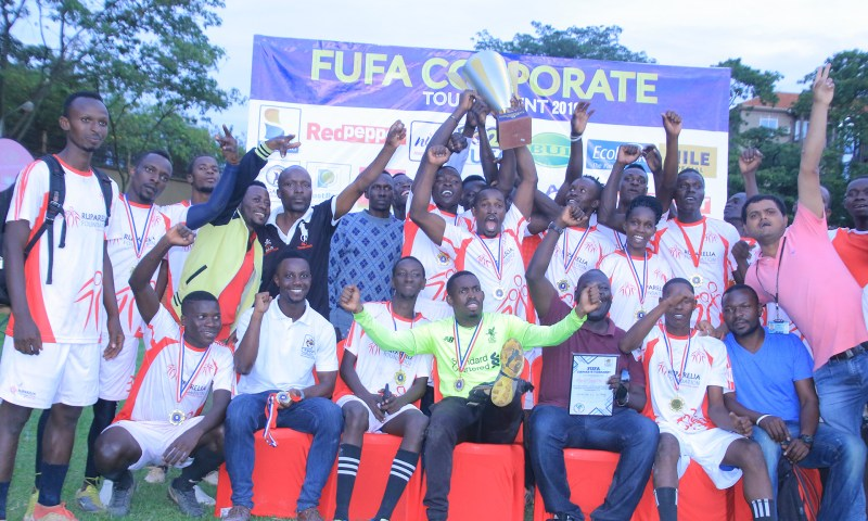 Ruparelia Group Shs.3M Richer After Winning 2019 FUFA Corporate Tournament!