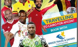Breeze Travel And Safaris Unveils 2019 AFCON Packages To Cairo