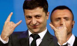 Comedian Elected Ukrainian President