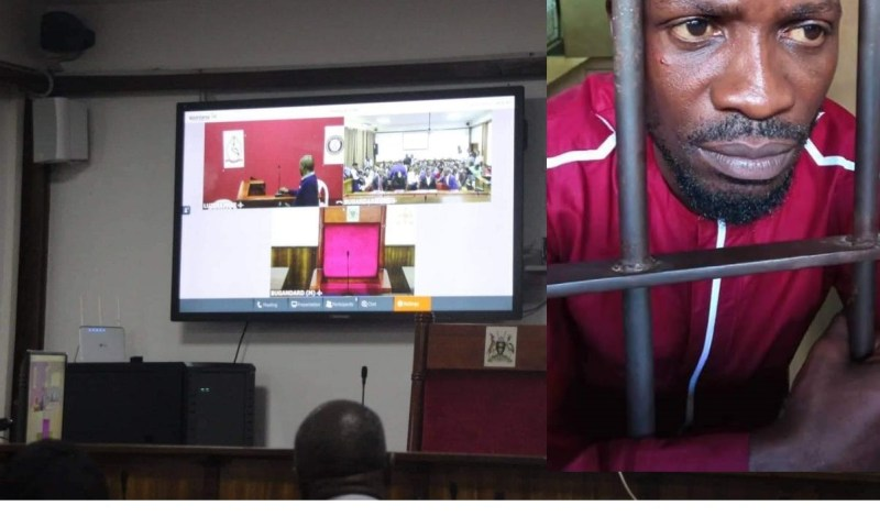 Bobi Wine No Show At Court, Case  Heard Via Teleconferencing
