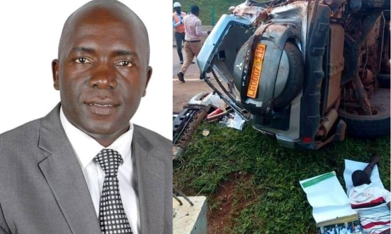 Entebbe Mayor Involved In Nasty Accident