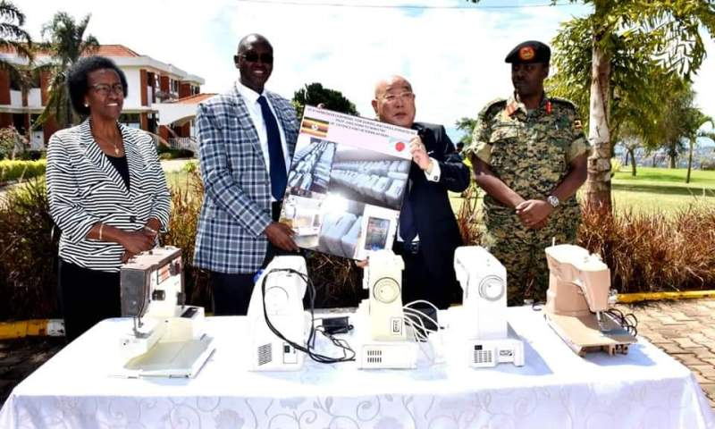 Japan To Develop Military Hardware For UPDF