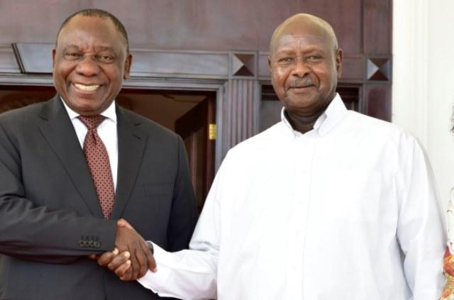 Ramaphosa Writes To Museveni About Denying Ugandans S.Africa Visas