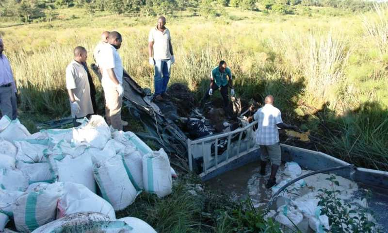 3 Perish In Kyotera Road Accident, Rescuers Steal Rice