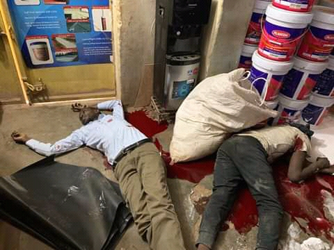 Armed Robbers Kill 3, Rob  Millions At Cheap General Hardware