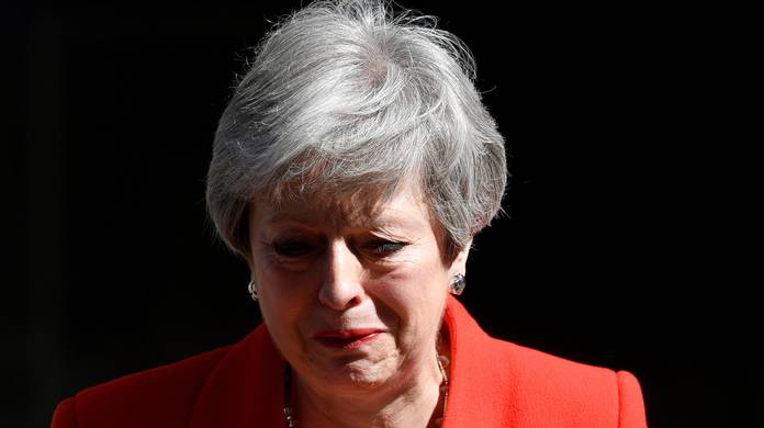 UK In Turmoil As Theresa May Throws In Towel