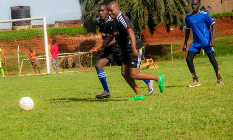 Pictorial: What You Missed At Bunga Bet Fans Football Match