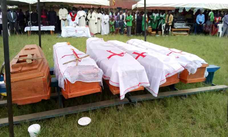 5 Bodies of Lightning Victims Laid To Rest