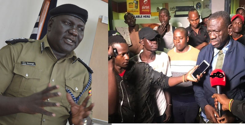 Police Speak Out On Robbers Shot At Col.Dr. Besigye's Petrol Station