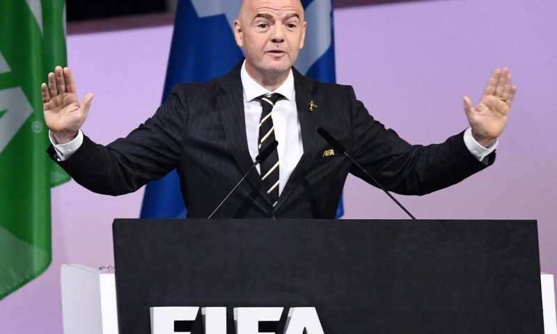 'FIFA Is No Longer 'Toxic'- Re-elected President Infantino