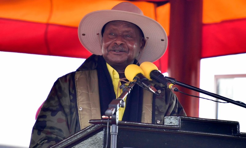 Museveni Salutes War Heroes,  Orders Landlords To Stop Evicting Tenants