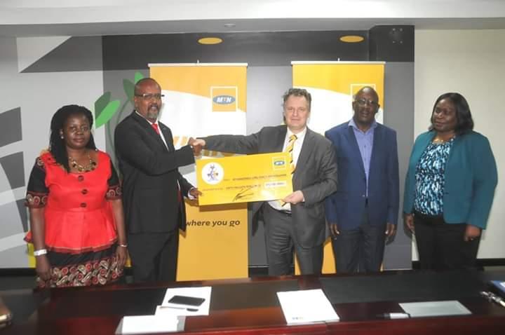 MTN Donates Shs50m To Kyabazinga Girl Child Program