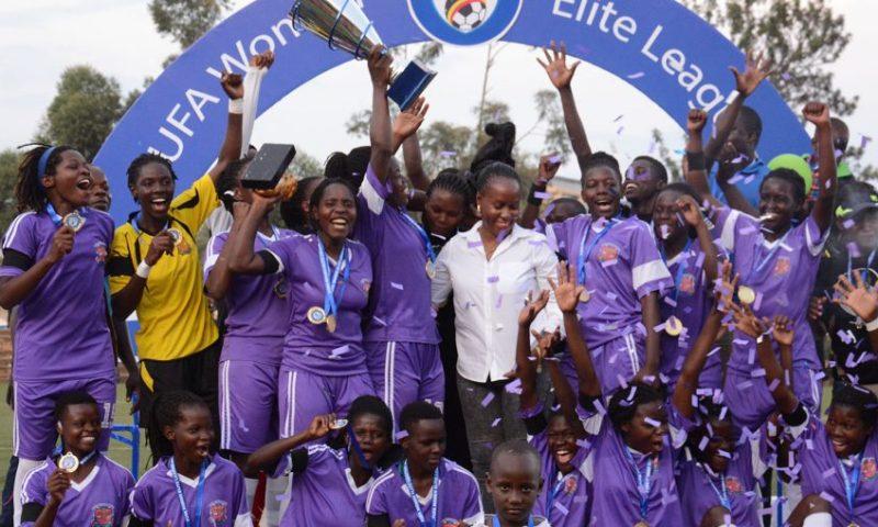 UCU Lady Cardinals are 2018/2019 FUFA Women Elite League Champions