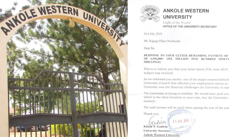 Ankole Western University Lecturers Face Eviction Over Rent Arrears