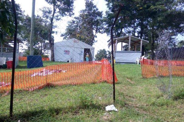 Goons Clobber Medics At Ebola Screening Units, Burn Medical Equiptment