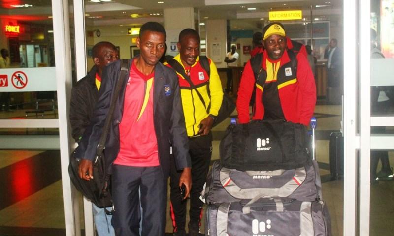 Uganda Cranes CHAN Team Returns From Djibouti