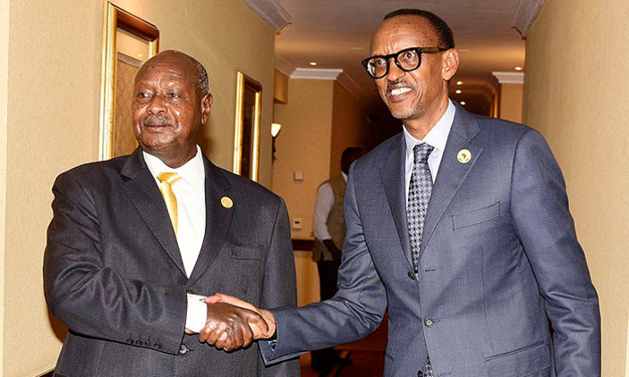 Museveni, Kagame To Discuss Diplomatic Row In Angola