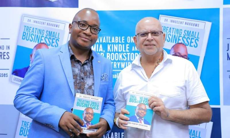 Tycoon Sudhir Graces Dr.Nahabwe's Book Launch, Urges Young Entrepreneurs To Be Resilient