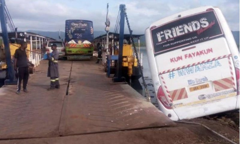 Friends Bus Plunged Into River Nile