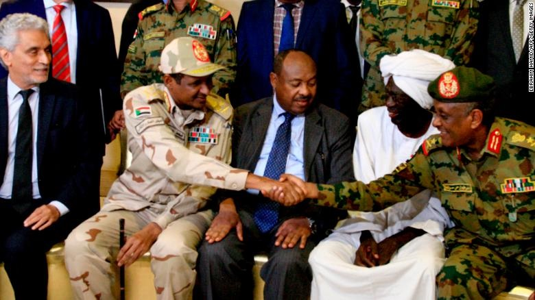 Sudan Celebrates Power Sharing Deal