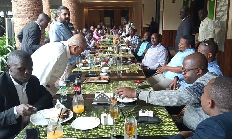 Tycoon Sudhir Celebrates Flooring BoU  With Massive Feast