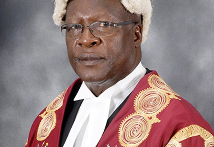 Chief Justice Katureebe Delays Re-opening Of Courts Due To COVID-19 Lockdown, Issues New Directives On Case Handling To Prevent Spread Of Virus