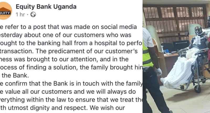Equity Bank Finally Speaks Out On 'Mistreated' Patient Saga