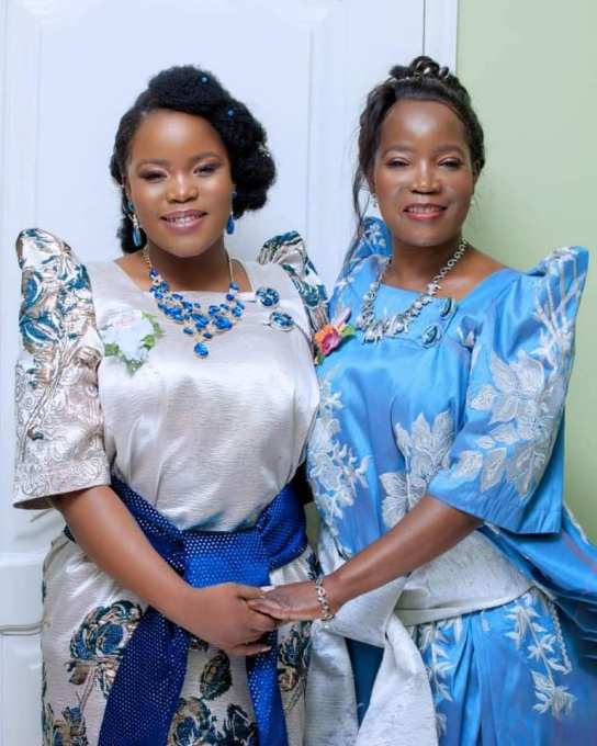 Jennifer Musisi with daughter Esther Channelle