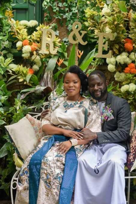 Esther Channelle and her Fiance