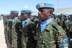 Gen. Muhoozi Hails  UPDF Troops Who Returned From Somalia