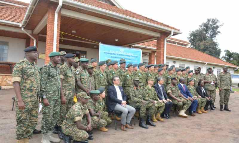 UPDF Gets Training From Japanese Army In Heavy Engineering Equipment Operation