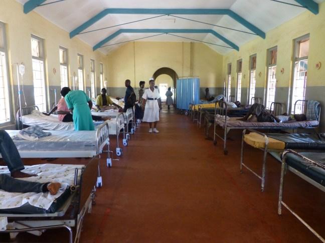 Medics attending to Patients at Jinja Referral Hospital