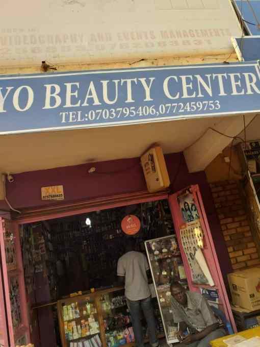 Mariam's shop in Mukono town