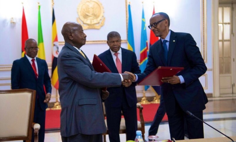 Museveni, Kagame Sign MOU To Foster Security, Regional Cooperation