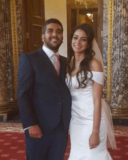 Youthful Tycoon Rajiv, Wife Celebrate 2nd Wedding Anniversary