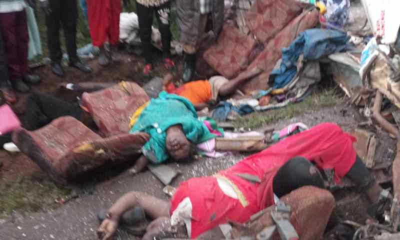 Victims Of Namutumba Bus Accident Finally Identified