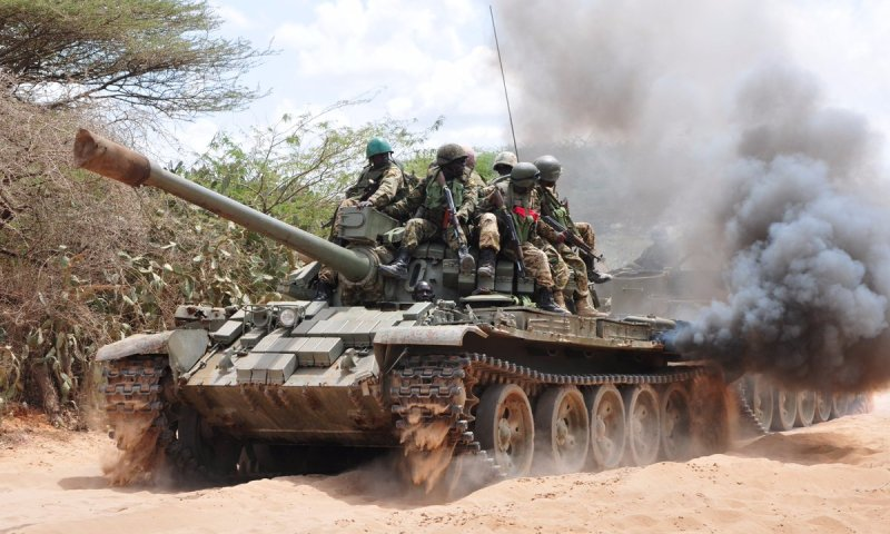 471 Artillery, Anti-Aircraft UPDF Officers Passed Out