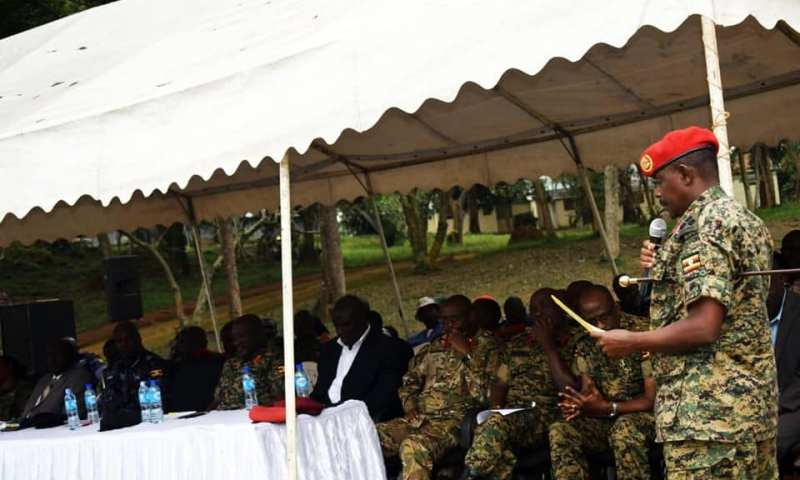 UPDF Passes Out 142 Commandos  To Quell 2021 Election Riots
